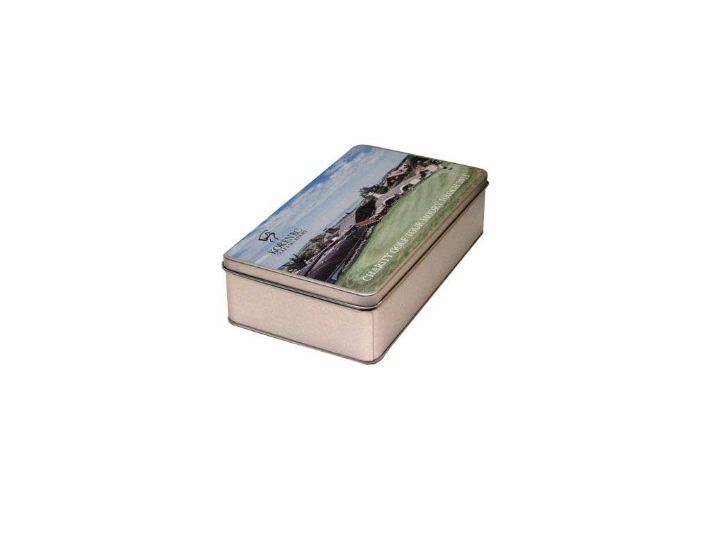 Kovová krabička obdélník velký