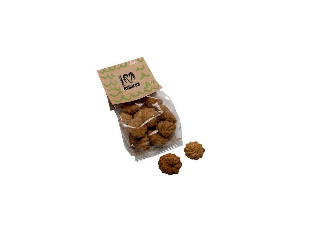 BIO kávové sušenky s kokosem