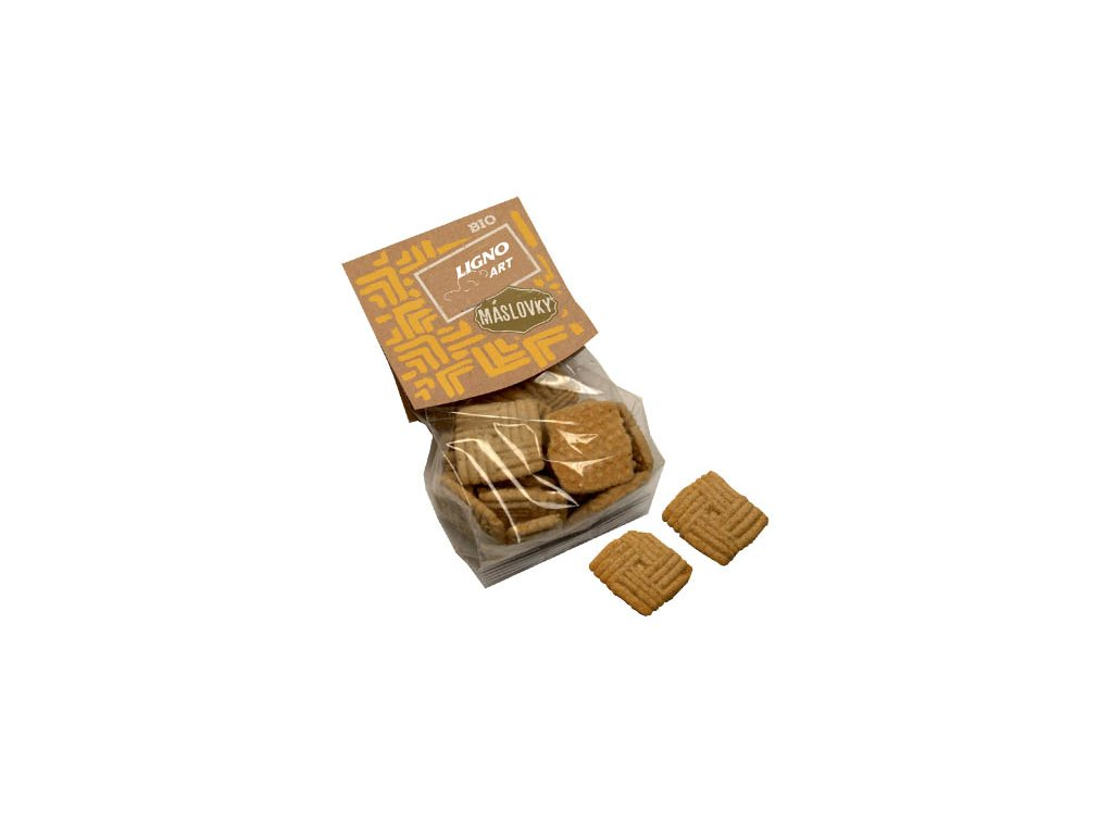 Máslové BIO sušenky s ovesnými vločkami