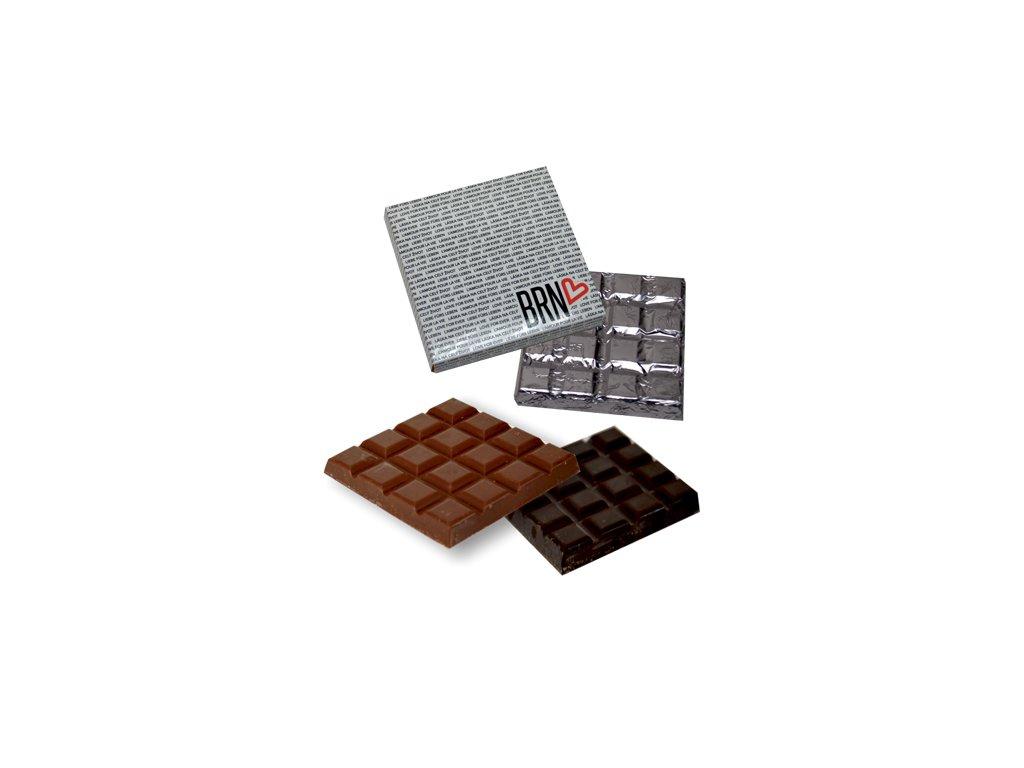 Čokoláda 100 g čtverec