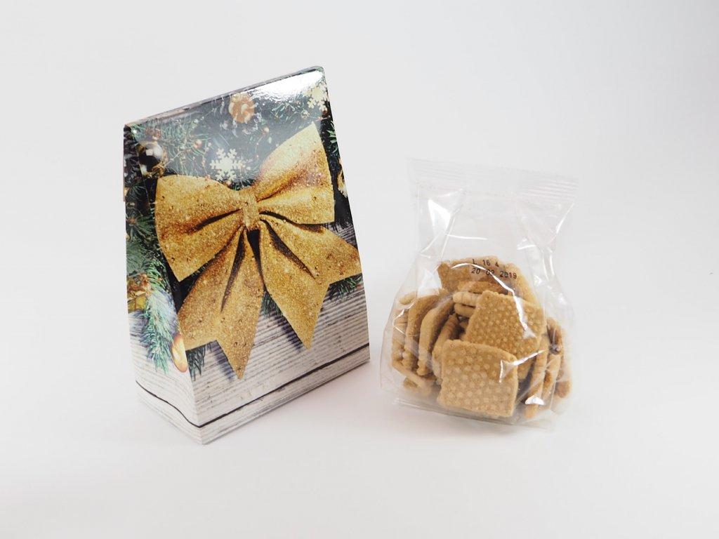 Vánoční BIO sušenky