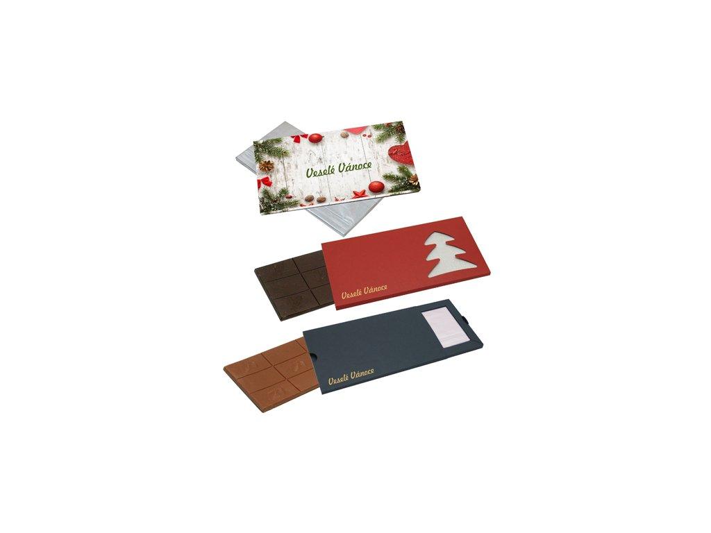 Čokoláda 80 g v papírové krabičce