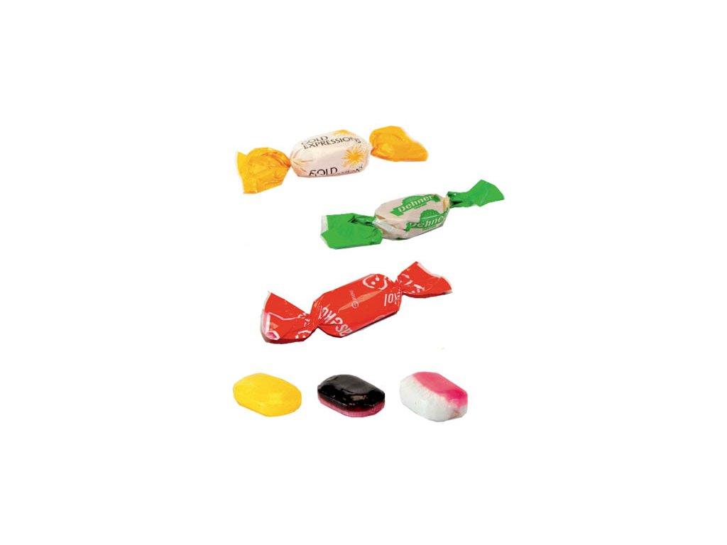 Litý bonbon 6 g, min. náklad 25 kg - flexotisk