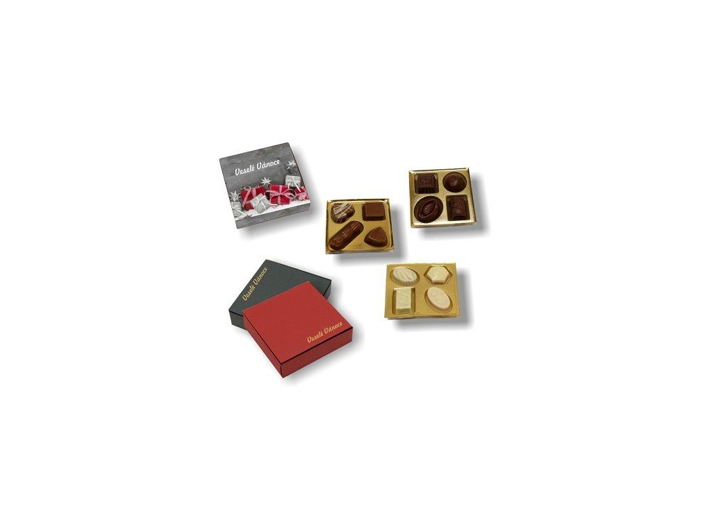 Dárková mini bonboniéra s pralinkami