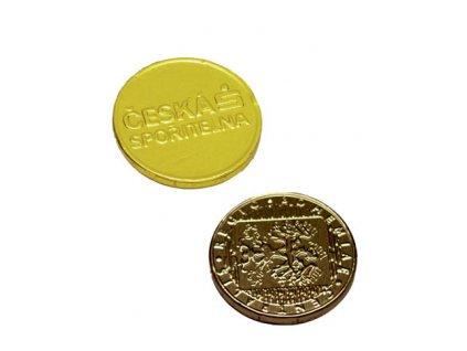 Čokomince 34 mm ražba 4,4 g