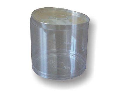 Plastová dóza s víčkem