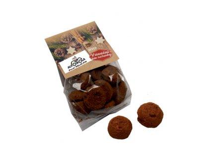BIO sušenky s vlašskými ořechy a kořením