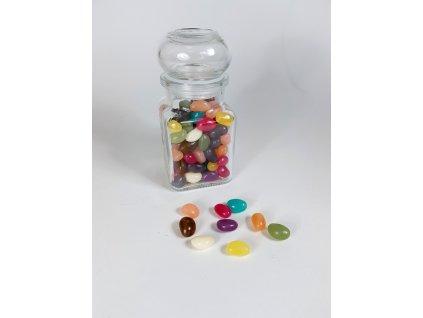 jelly beans sklo