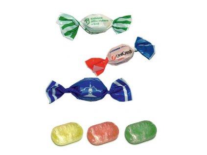 Litý bonbon 5 g, min. náklad 25 kg - flexotisk