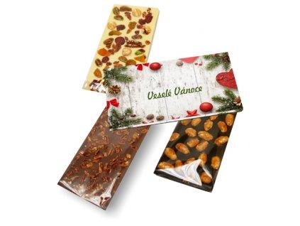 Česká ruční výroba - Čokoláda 100 g v krabičce