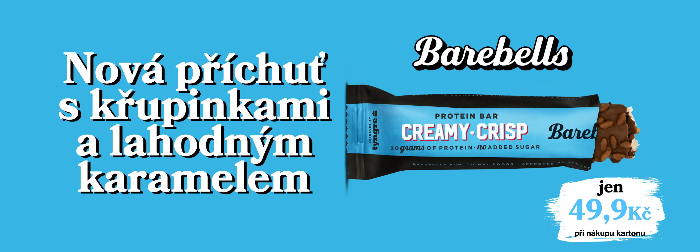 barebells creamy crisp