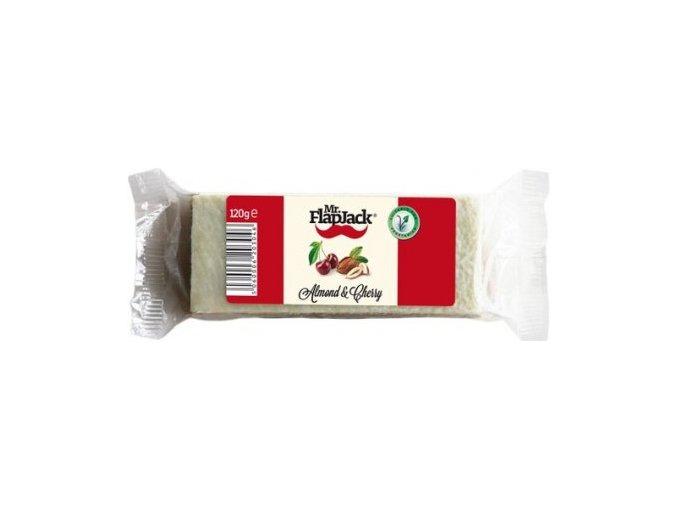 mr flapjack mandle tresen almond cherry ovesna tycinka 120g