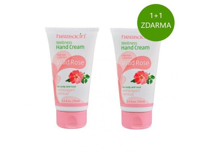Herbacin Wellness krém na ruce Divoká růže 75ml