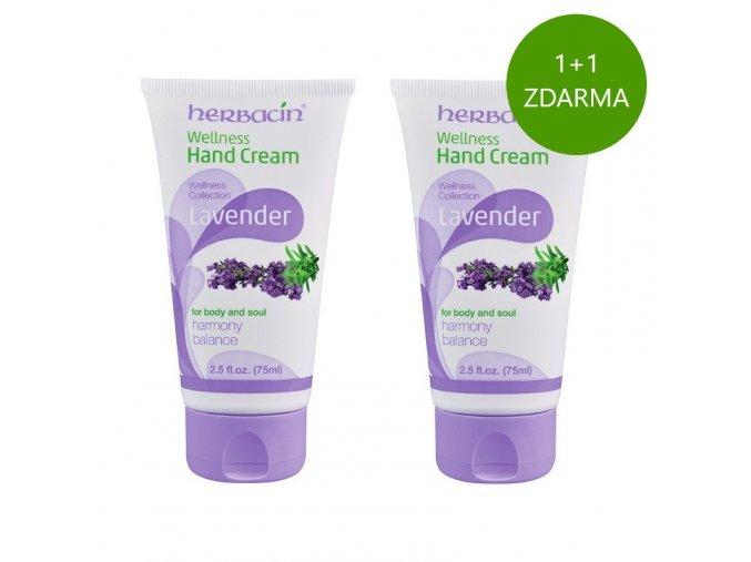 Herbacin Wellness krém na ruce Levandule 75ml akce 1 1