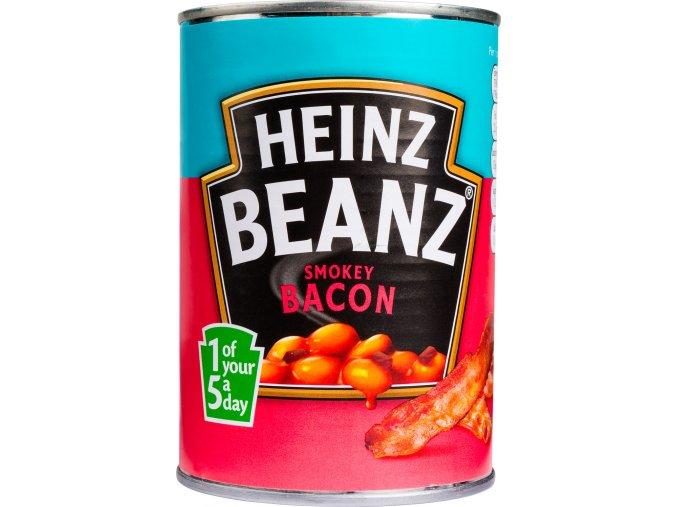 Heinz fazole v tomatové omáčce se slaninou 390g