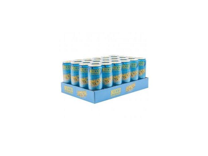 nocco limon del sol bcaa karton 24x 330ml