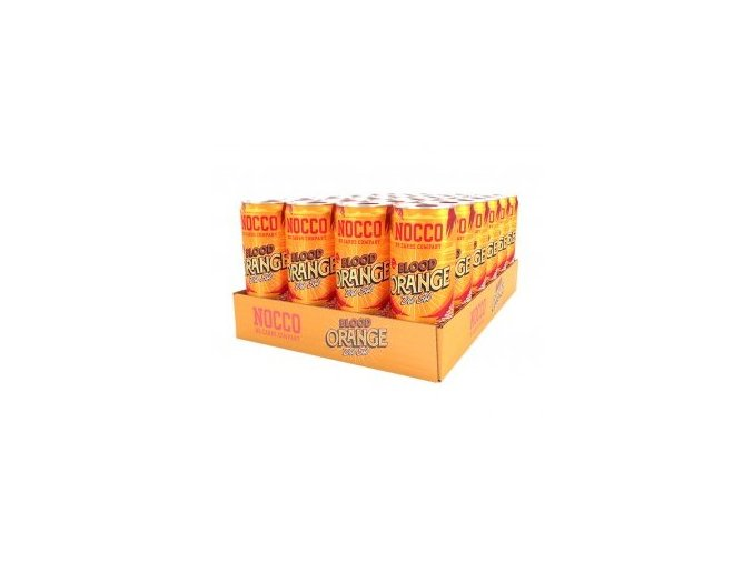 nocco blood orange del sol bcaa karton 24x 330ml