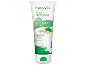 Herbacin Sprchový gel bylinný Lemongrass 200ml 1