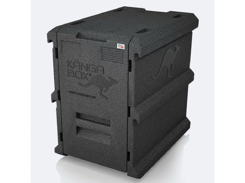 Termobox Kangabox Tower GN 100-8 100l černá