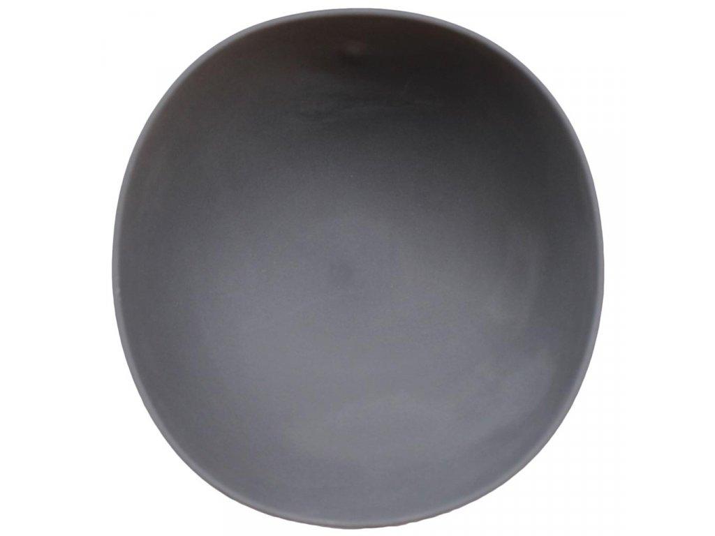 Cookplay Shell Ramen mísa černá 18,5x19,5x8,5cm