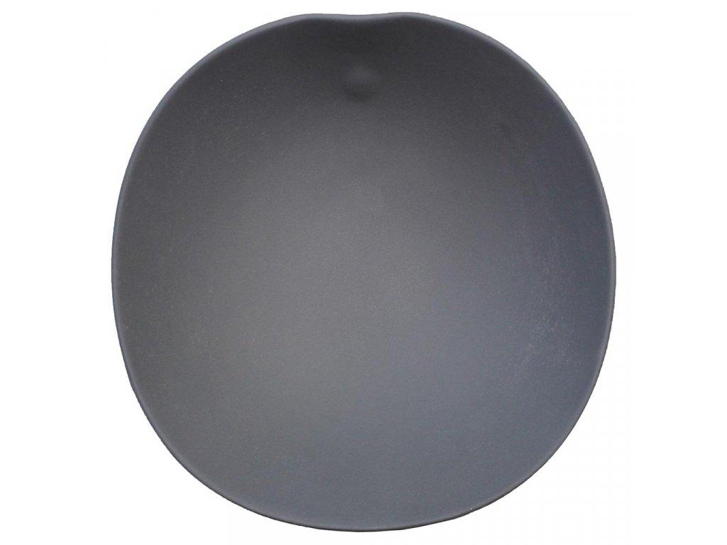 Cookplay Shell salátová mísa černá 21,5x22x7,5cm
