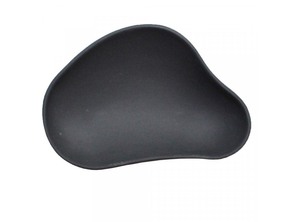 Cookplay Yayoi talíř na předkrm černý 10x6x3,5cm