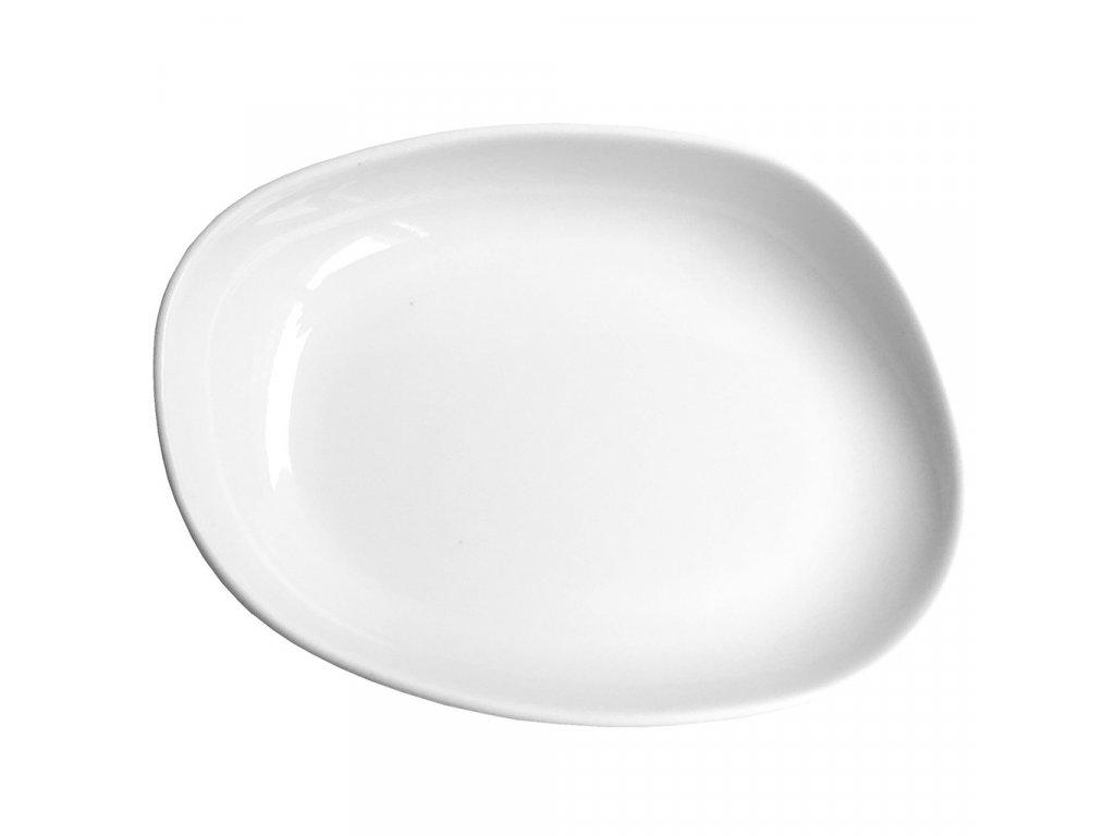 Cookplay Yayoi talíř na přílohu s glazurou 14x11x3cm