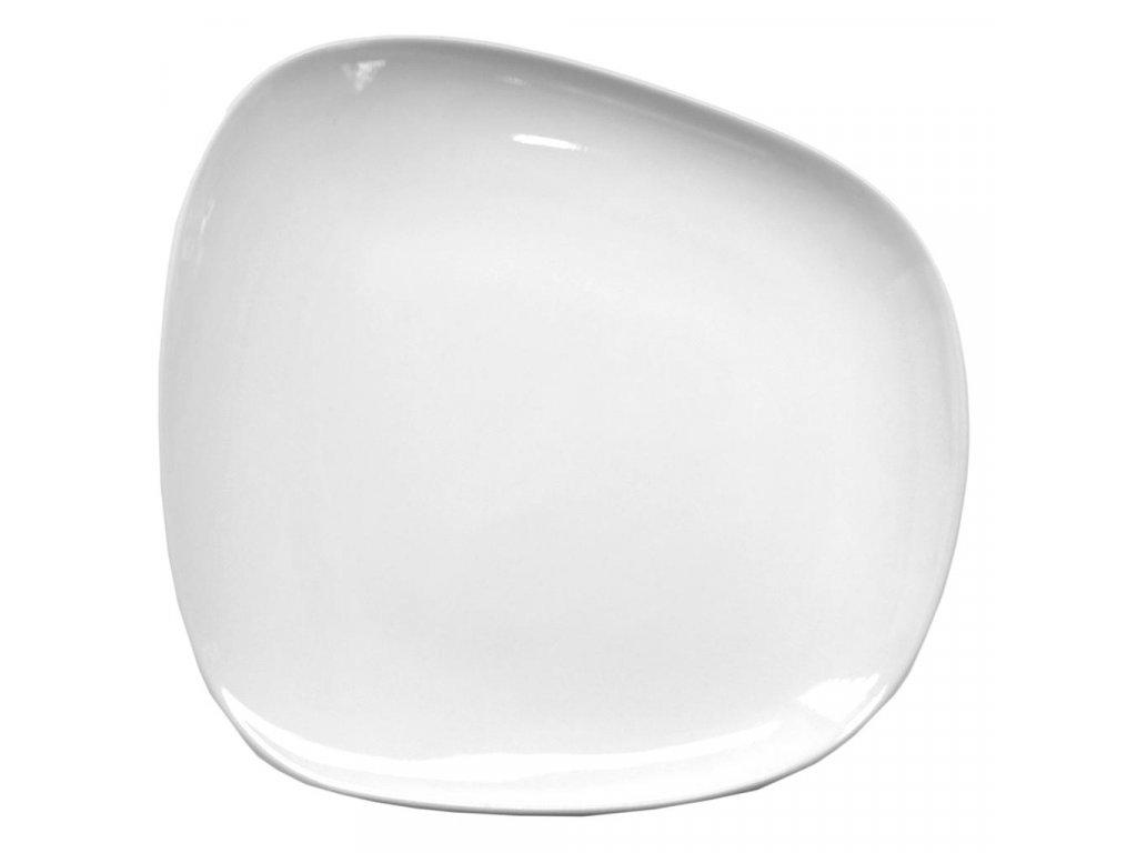 Cookplay Yayoi mělký talíř glazovaný 26x24.5x4cm