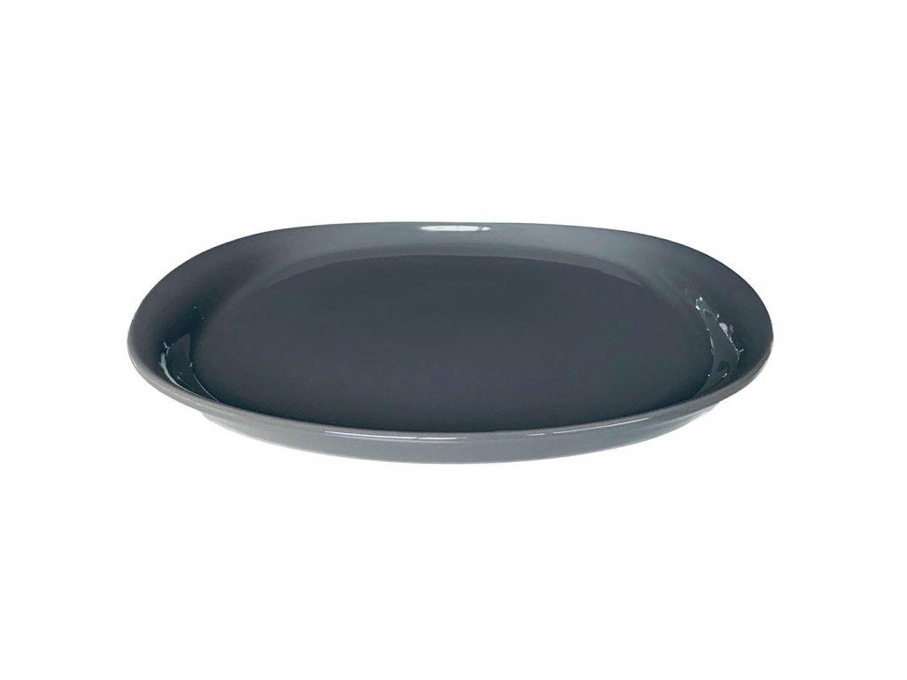 Cookplay Naoto Plate ⌀ 25 Dark Grey 1ks