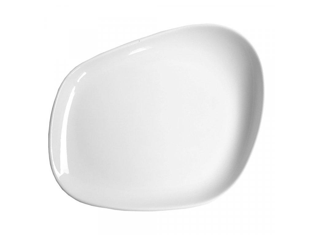 Cookplay Yayoi mělký talíř s glazurou 23x20x3,5cm 1ks