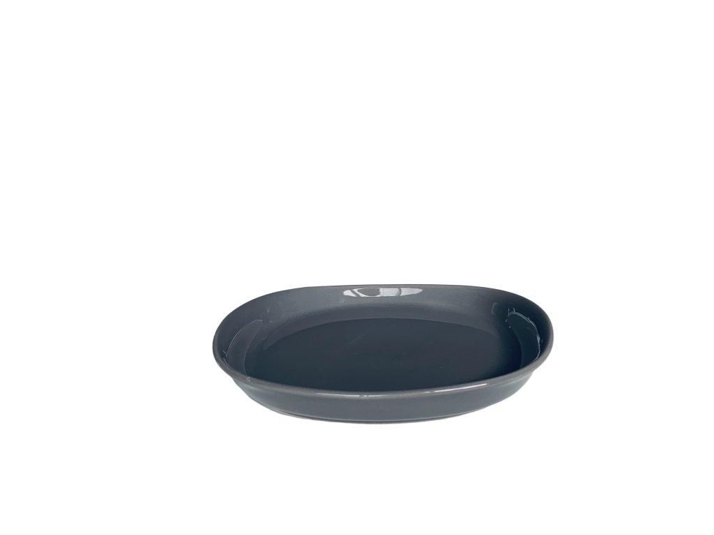 Cookplay Naoto Plate ⌀17 Dark Grey 1ks
