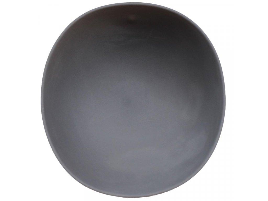 Cookplay Shell zmrzlinová miska černá 13x13,5x6,5cm 1ks