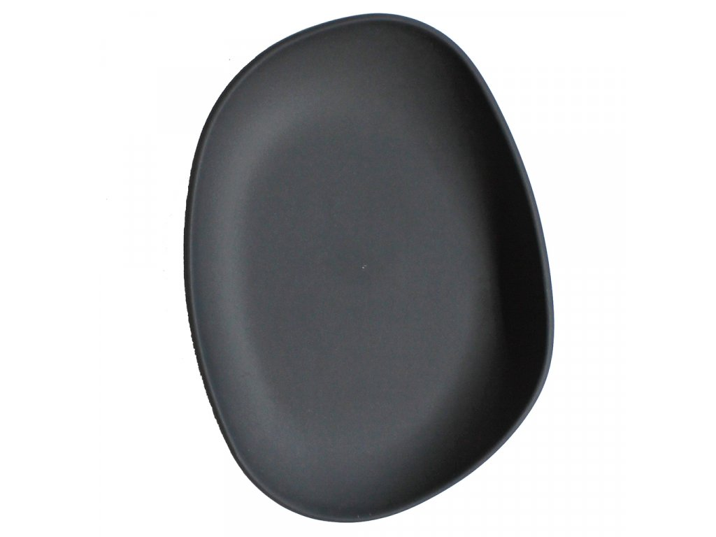 Cookplay Yayoi hluboký talíř černý 14x11x3cm 1ks