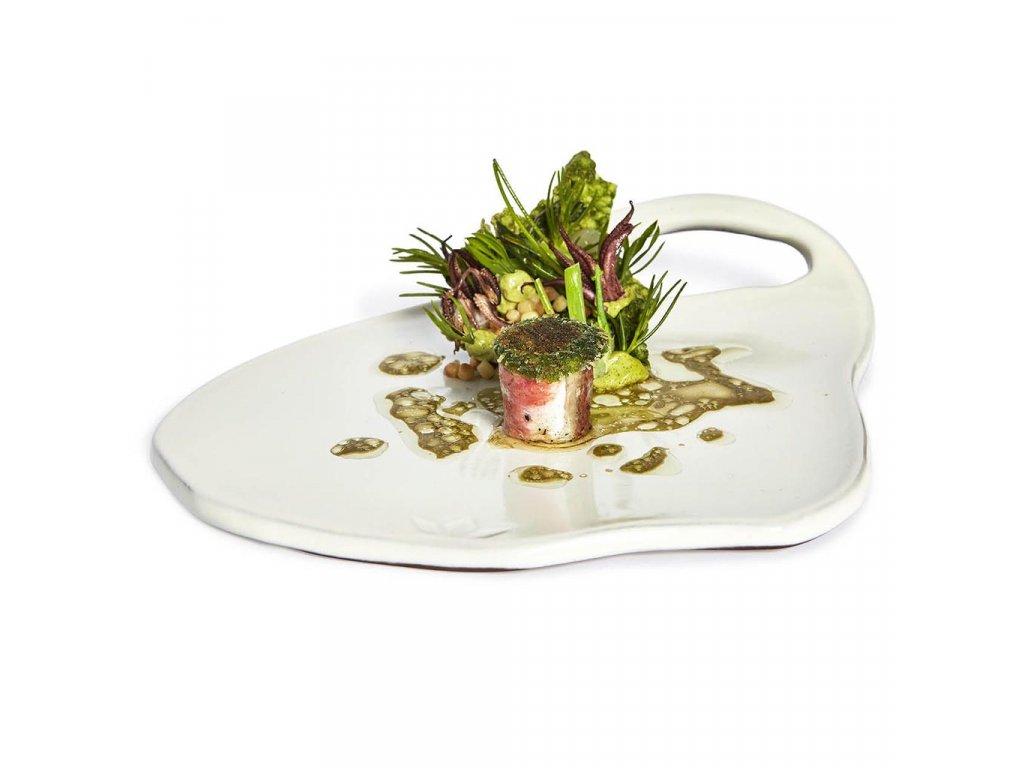 Dutch Deluxes Board Plate Lola White