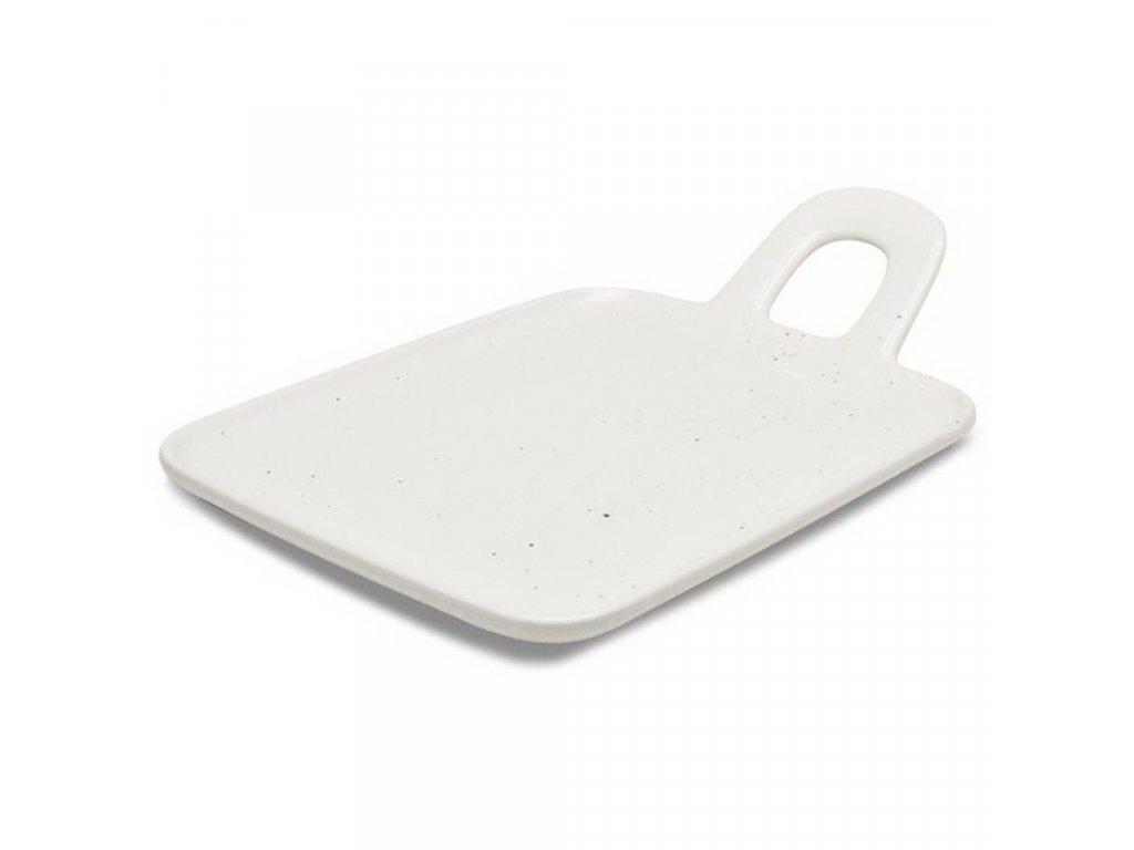 Figgjo Base Dryss talíř s uchem 18x28 cm