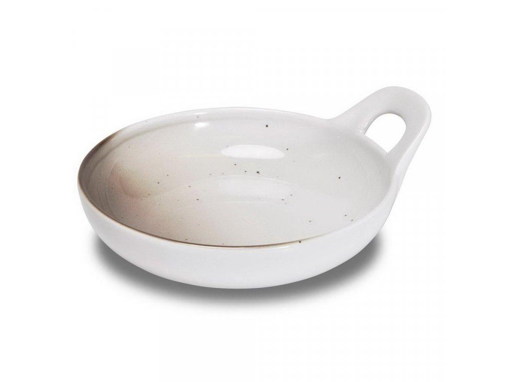 Figgjo Skygge talíř s vysokým praporem a uchem 16x18,5cm 1ks