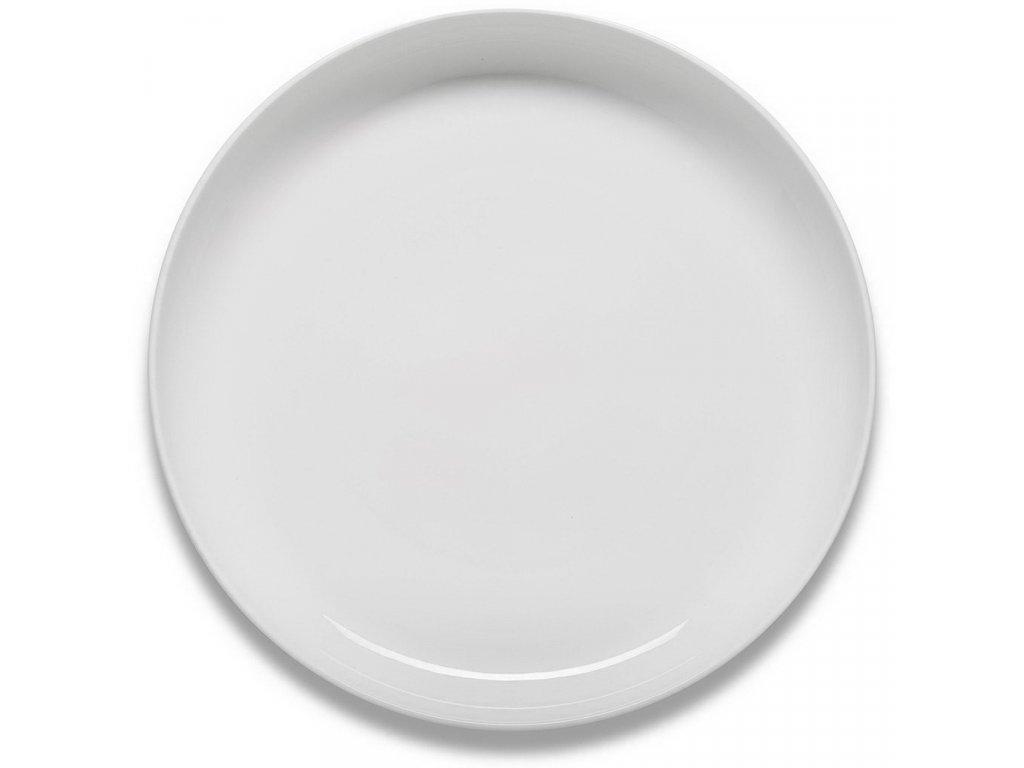 Figgjo Klassik tác/podnos bílý s vysokým okrajem ø40cm