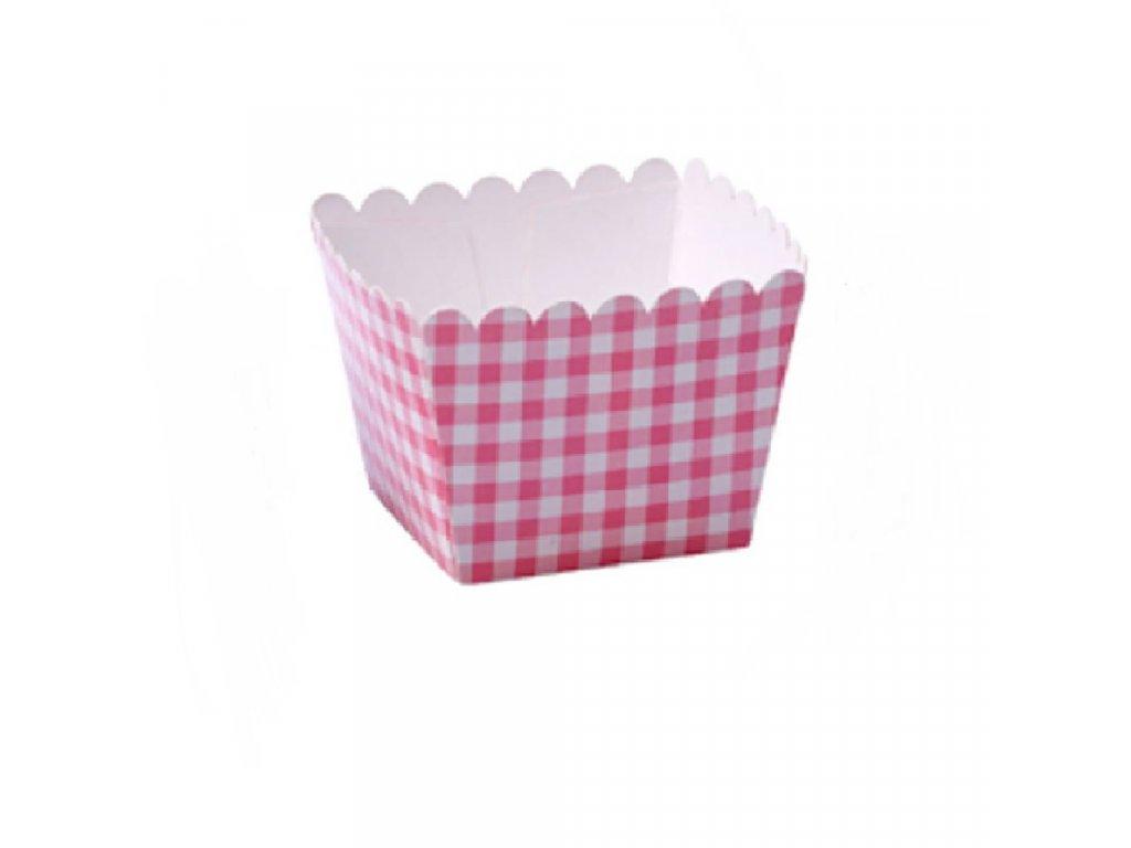 100% Chef mini krabička na popcorn červená 6x6x4,5cm