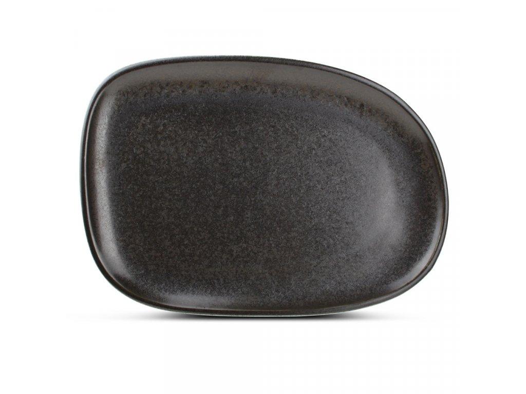 F2D Black Ceres talíř 33x23x2.5cm