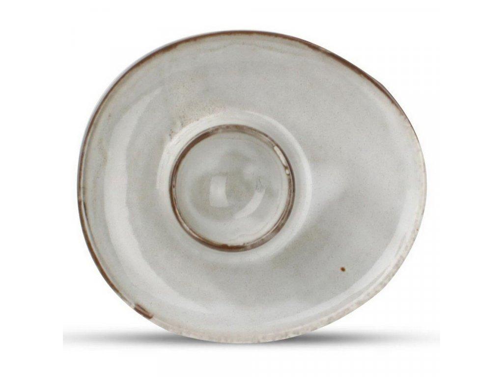 F2D Grey Ceres miska na vajíčka 1ks