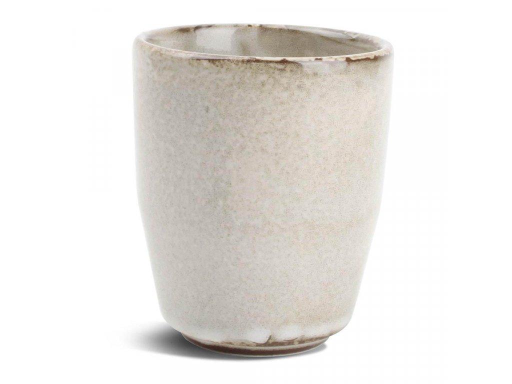 F2D Grey Ceres Mug 0.28L unhandled 1ks