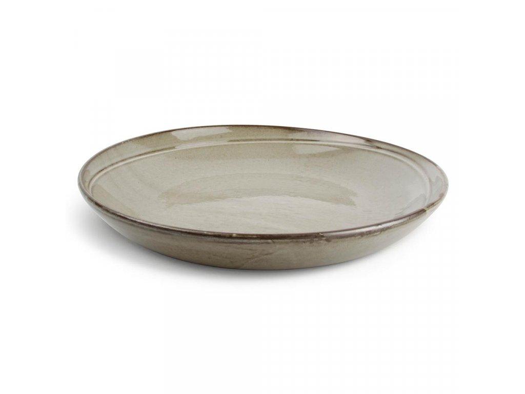 F2D Grey Ceres Serving dish round 30x5cm
