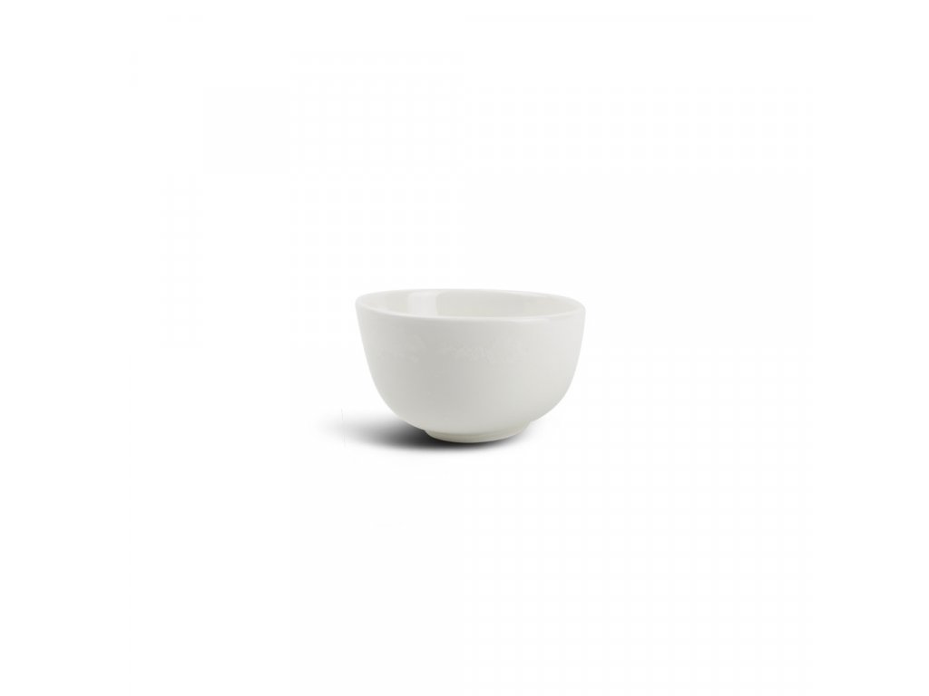F2D White Ceres Bowl slanting 10x5/6cm