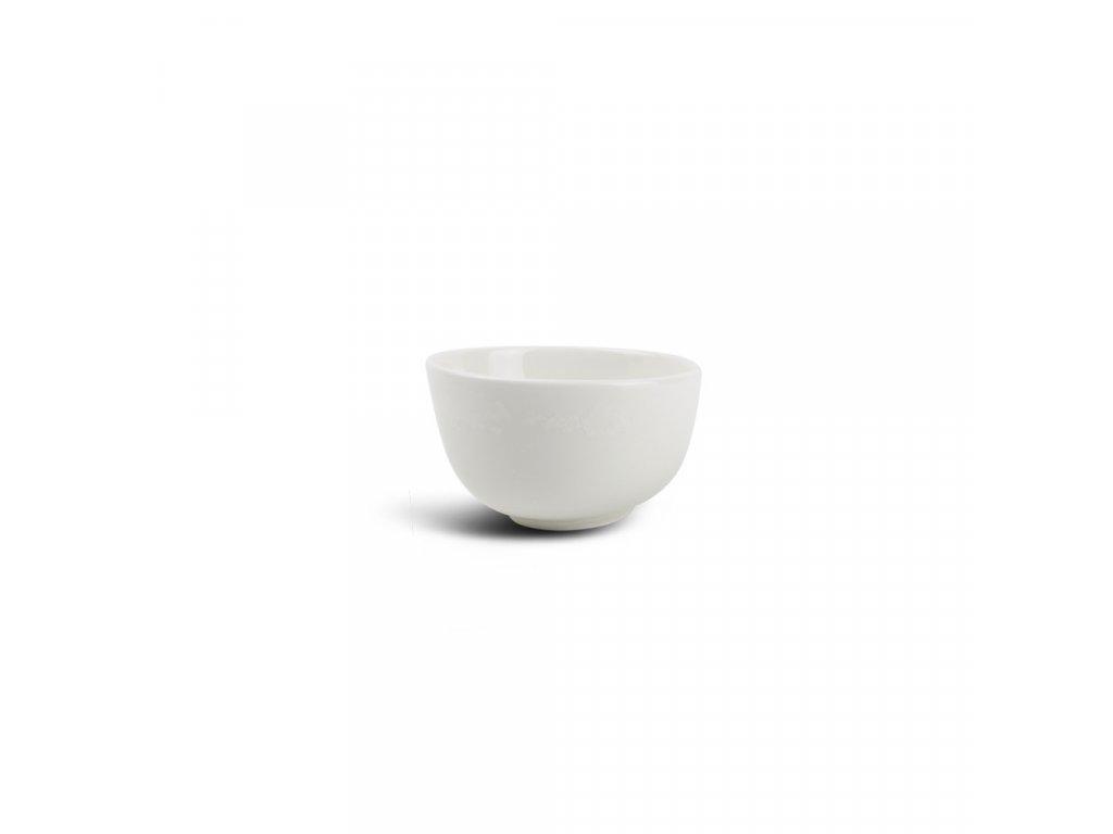 F2D White Ceres Bowl slanting 10x5/6cm 1ks