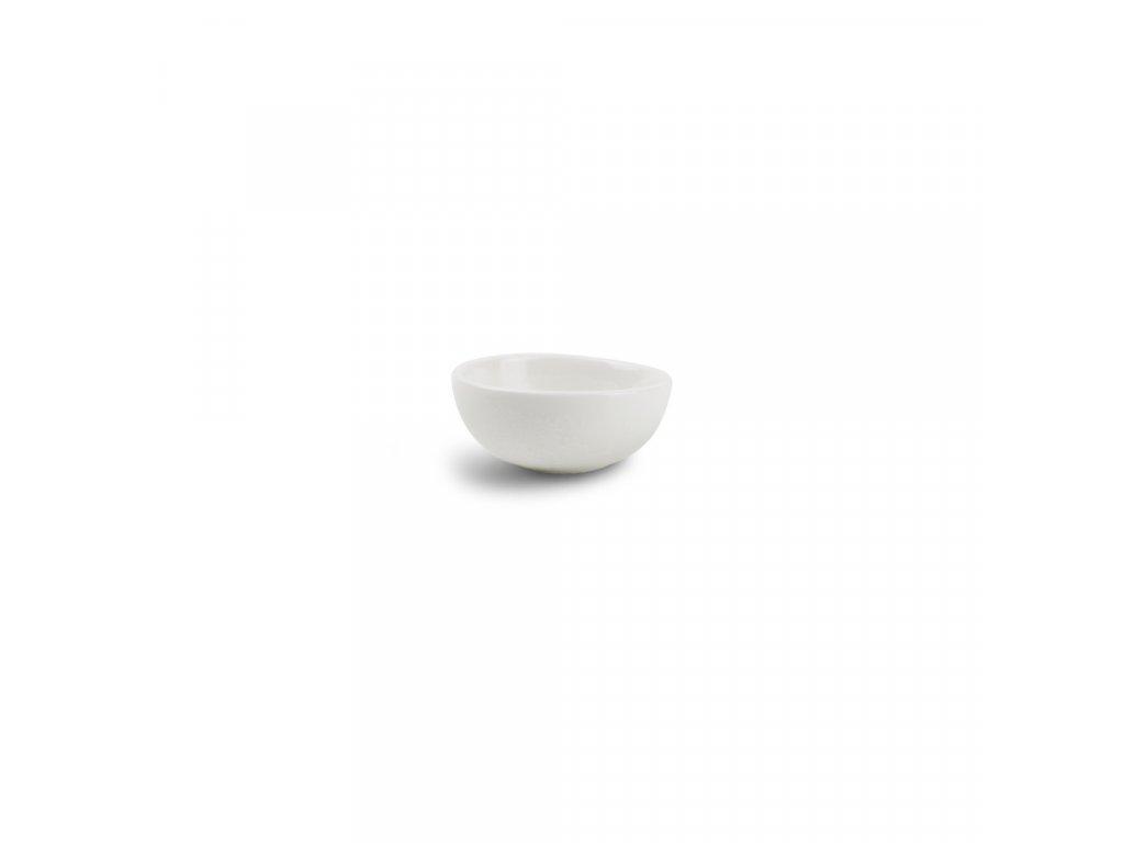F2D White Ceres Bowl slanting 7.5x2/3cm 1ks