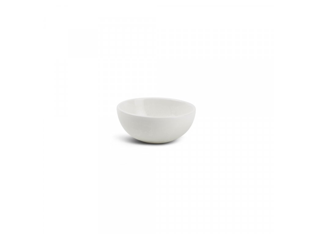 F2D White Ceres Bowl slanting 9.5x3.5/4.5cm 1ks