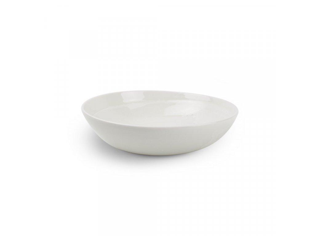 F2D White Ceres Pasta/salad plate 22x6cm 1ks
