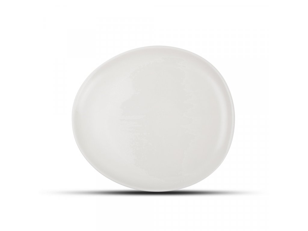 F2D White Ceres Plate 21x18.5x2cm