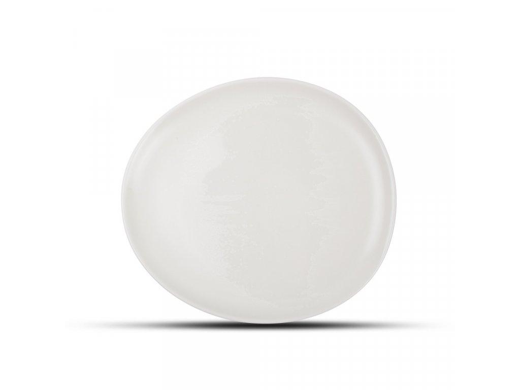F2D White Ceres Plate 21x18.5x2cm 1ks