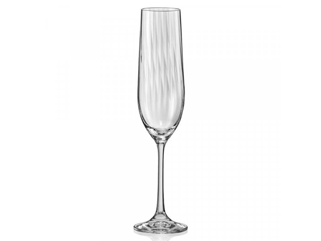 F2D Optic Champagne glass 0,19l 1ks